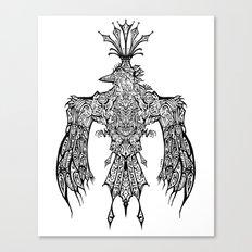 Crowned Messenger Canvas Print