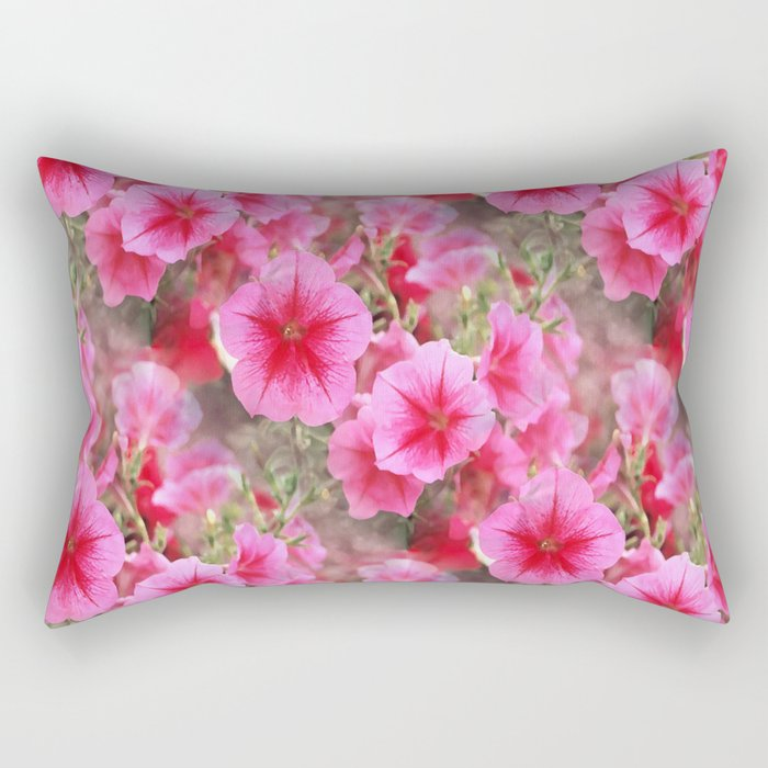 Love of Petunias.... Rectangular Pillow