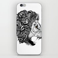 leon iPhone & iPod Skins featuring Leon by Artful Schemes