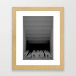 3D Z-DEPTH Framed Art Print