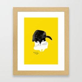 cat 2 Framed Art Print