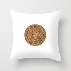 mayan 2012 Throw Pillow
