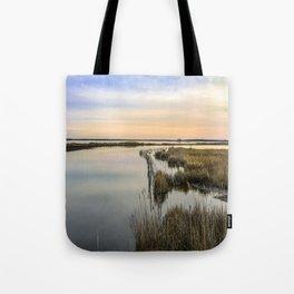 Wildgrass Along the Chesapeake Bay Tote Bag