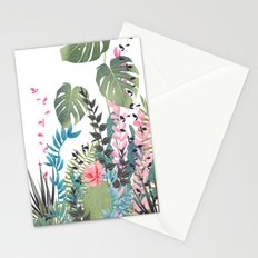 tropical composition Stationery Cards