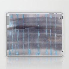 Grey Rain Laptop & iPad Skin