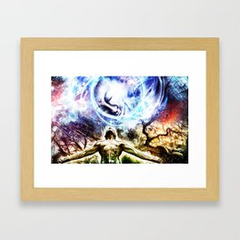 I am a Son of Earth and Starry Heaven Framed Art Print