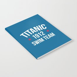 Swim Team Funny Quote Notebook