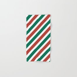 Holiday Stripes Hand & Bath Towel