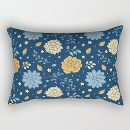 Succulents at night Rectangular Pillow