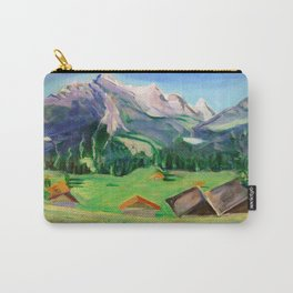 View from Haslital, Switzerland Carry-All Pouch
