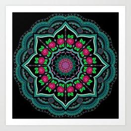Mandala Project 608 Art Print