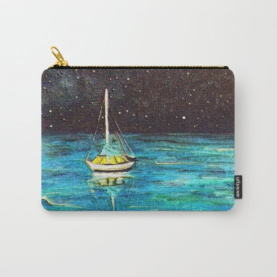 Sailboat Under The Stars Carry-All Pouch
