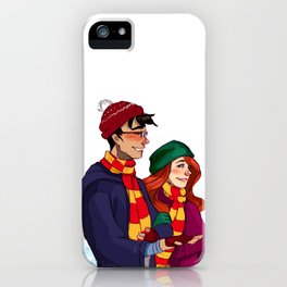 James and Lily iPhone Case