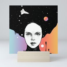 If You Were My Universe Mini Art Print