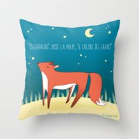 le petit prince Throw Pillows featuring Legame (Le Petit prince) IT by OWL Good Night Design