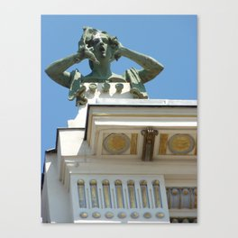 Vienna modern art Canvas Print