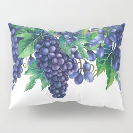 Watrercolor grapes Pillow Sham