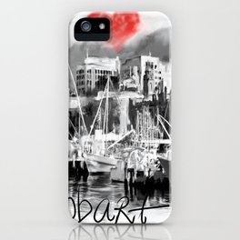 I love Hobart iPhone Case