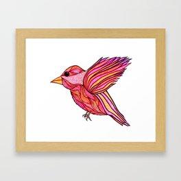 Chickadeedeedee Framed Art Print