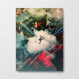 Pretty High Metal Print