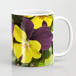 The Pansies at the Corner Coffee Mug