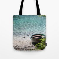 boat Tote Bags featuring Boat by L'Ale shop