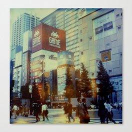 Tokyo Dreaming Canvas Print