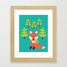 Forest Fox Framed Art Print