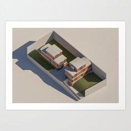 Maison Jaoul Art Print