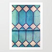window Art Prints featuring window by Claudia Drossert