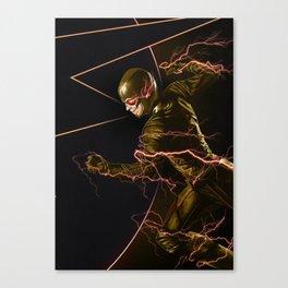 The Flash triptych ANTIFLASH Canvas Print