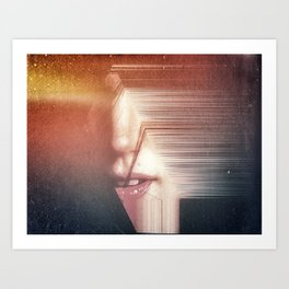 With Our Mouth we make Mountains Art Print