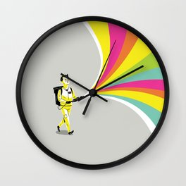 A Murray of Sunshine Wall Clock