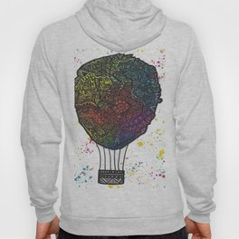 Colourful Hot Air Ballon Hoody