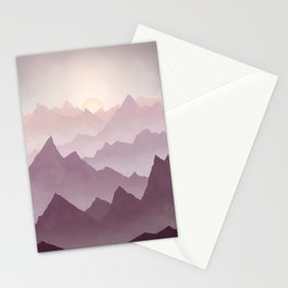 Wanderlust (Mountains) Stationery Cards