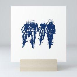 Cycling Mini Art Print