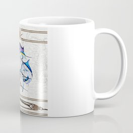 Pacific Billfish Slam Marlins,Sailfish,Swordfish,Spearfish Coffee Mug