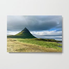 Icelandic small volcano Metal Print