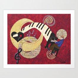 Cosmic Muse Art Print