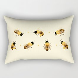 Honey bees Rectangular Pillow