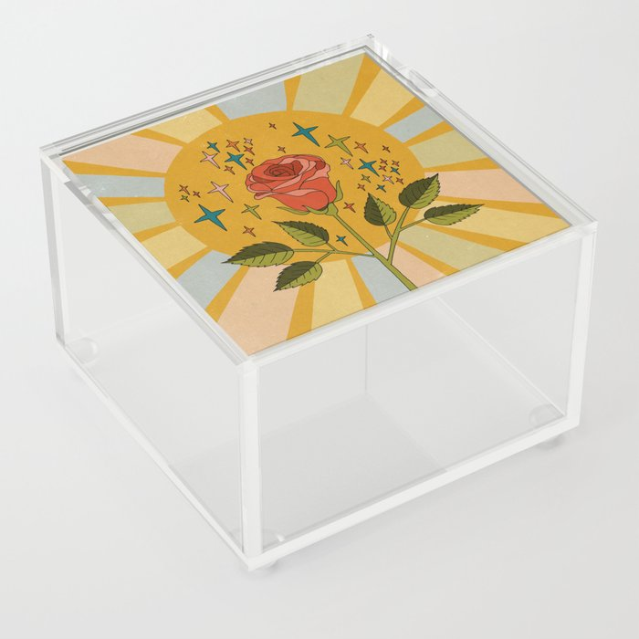 Sun rose Acrylic Box