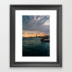 Something Brewing Framed Art Print