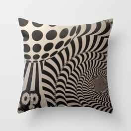 Optical Illusion for IPhone  Throw Pillow