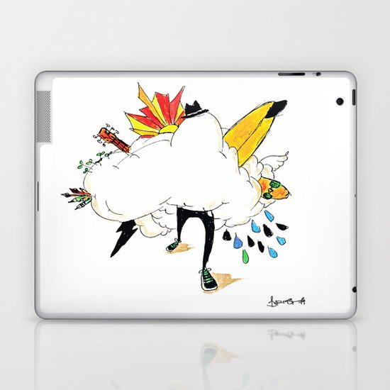 ED IN THE CLOUDS Laptop & iPad Skin