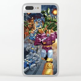Wreck n Rule! Clear iPhone Case