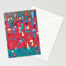 structures 6 Stationery Cards