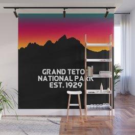 Grand Teton National Park Wall Mural