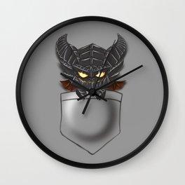 Dragon Pocket Tee Wall Clock