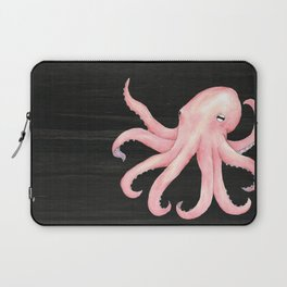 Pink Octopus Laptop Sleeve