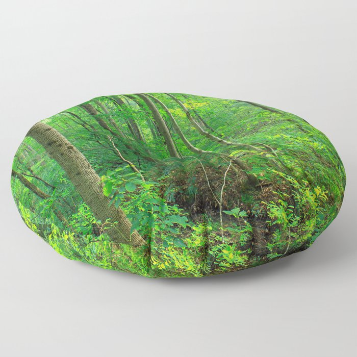 Forest 7 Floor Pillow
